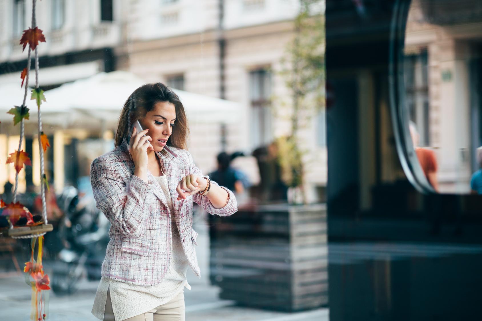 Telemedicine Talking on Phone