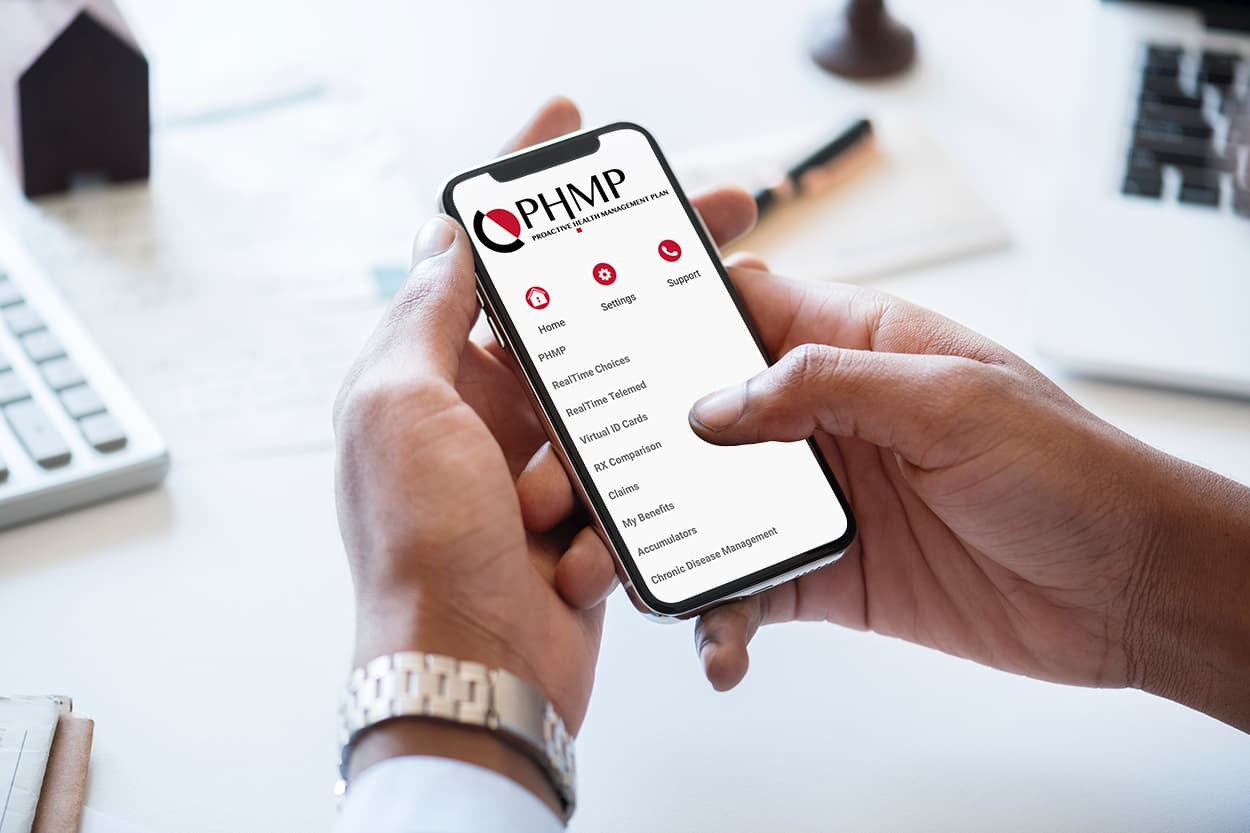 THE PHMP MOBILE APP
